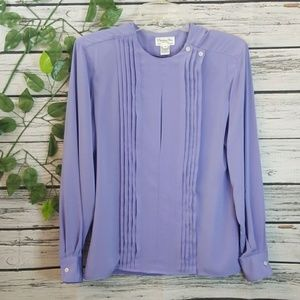 NWOT Christian Dior vertical pleated long sleeve 6